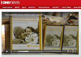 TVNZ on the launch of the Grandparents Raising Grandchildren Toolbox-218