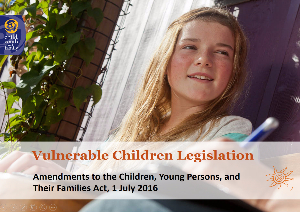 Vulnerable Children Legislation - 2016 amendments-957