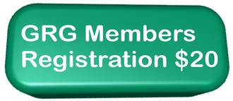 GRG Members Registration Fee for both days ($20 incl GST)