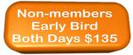 Non-members Early Bird (to 6 August 2016) Both Days ($135 incl GST)
